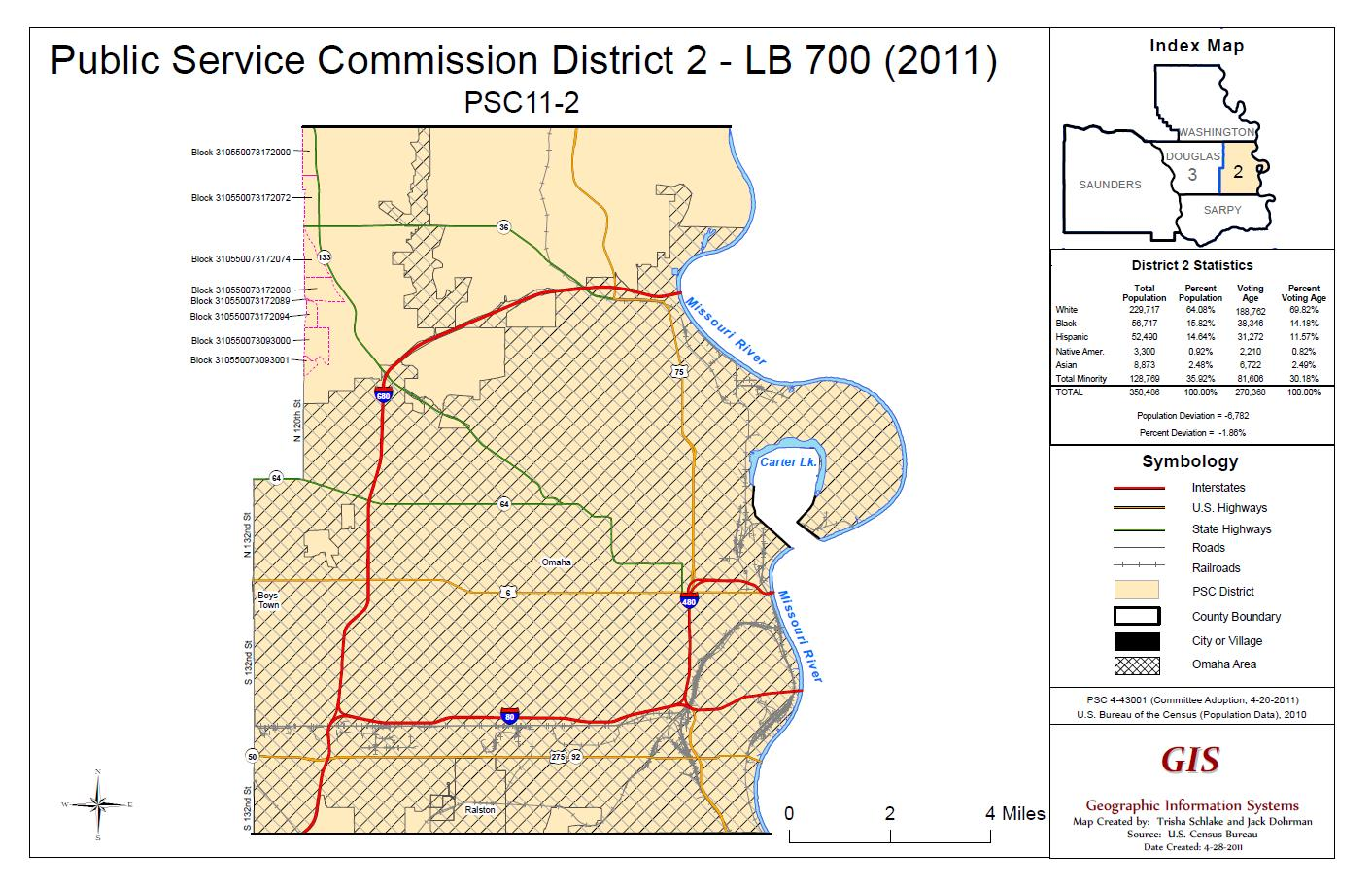 PSC District 2 Map