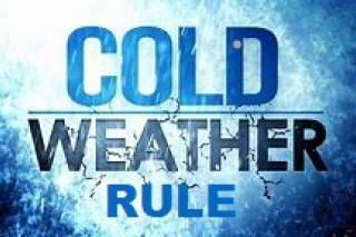 Cold Weather Rule Graphic