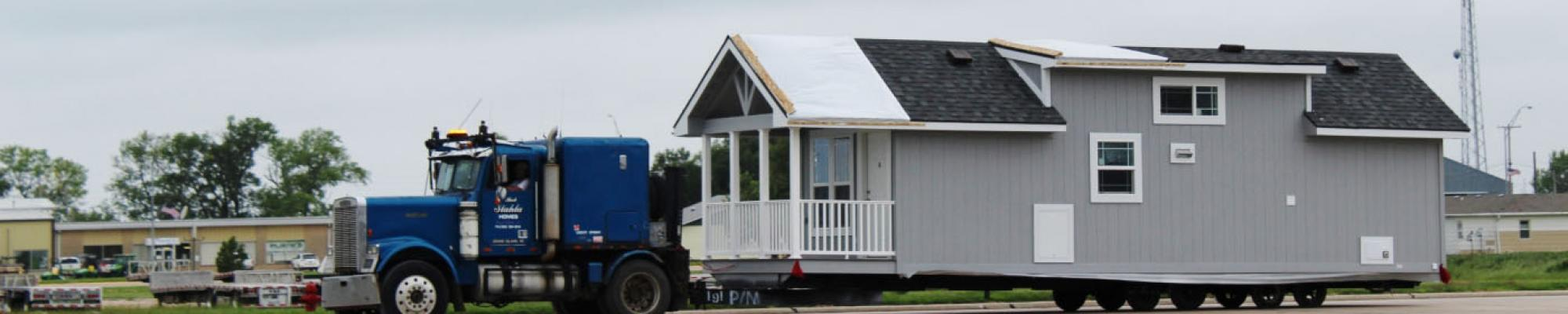 Modular home picture