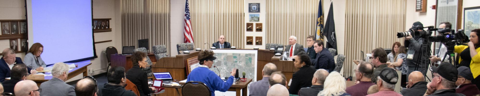 Blocked RR Crossing Hearing